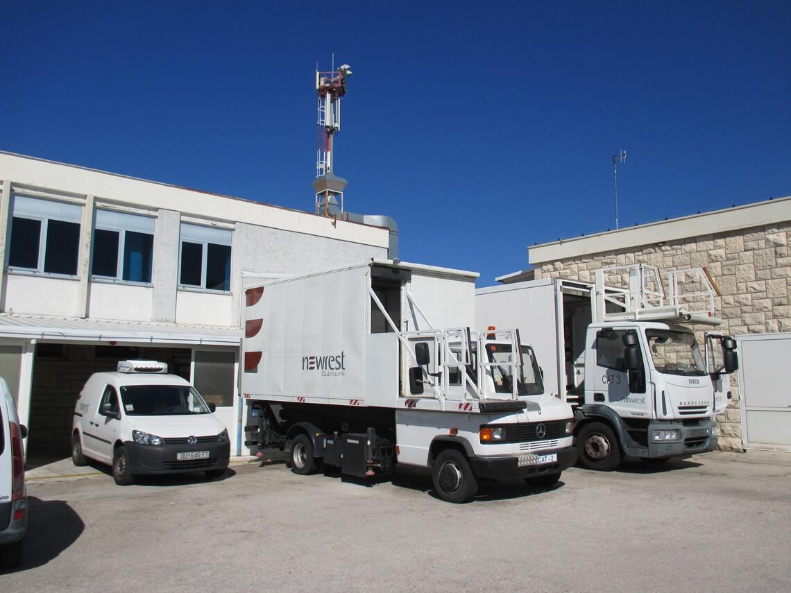Unité de production de Newrest à Dubrovnik