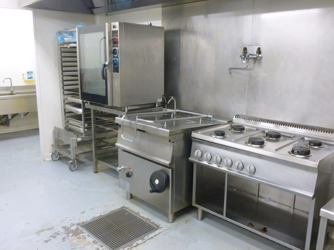 Unité de production de Newrest à Fort de France
