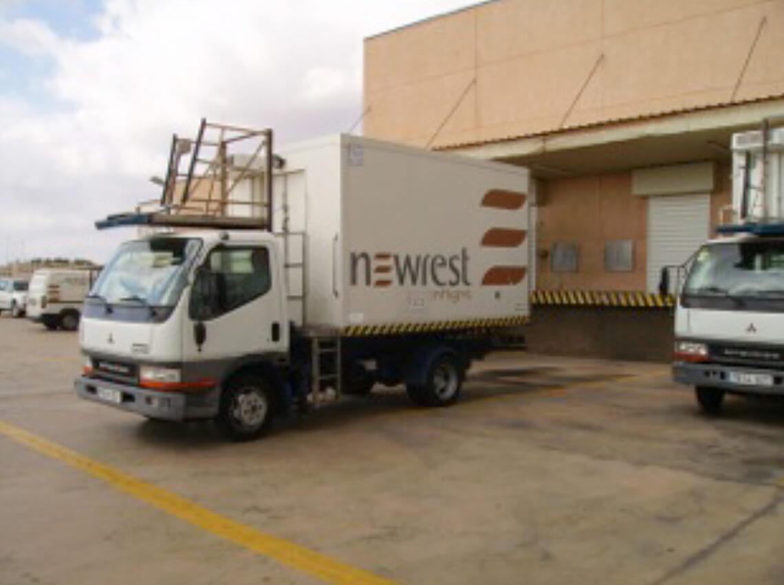 Camion Newrest à Fuerteventura