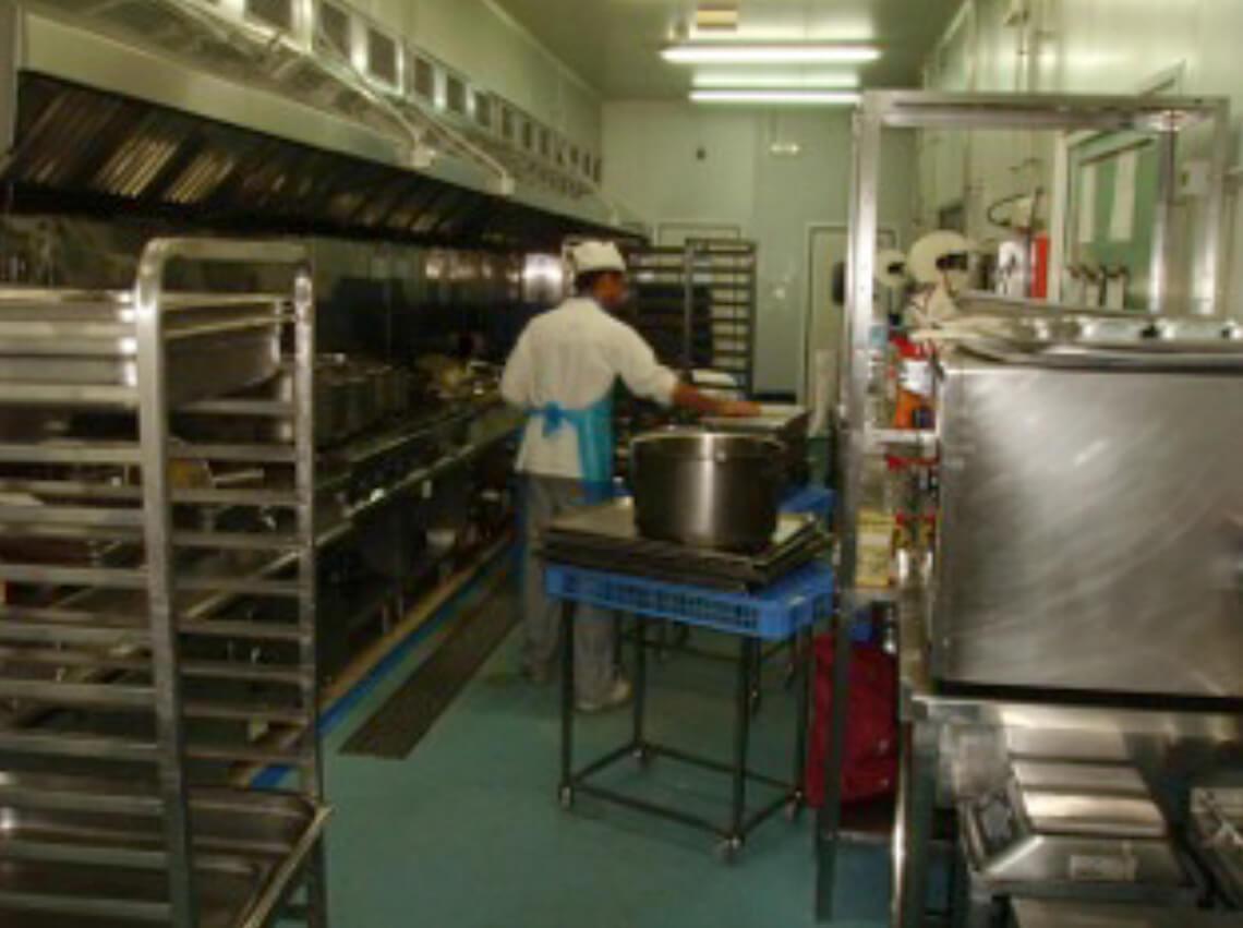 Unité de production de Newrest à Fuerteventura