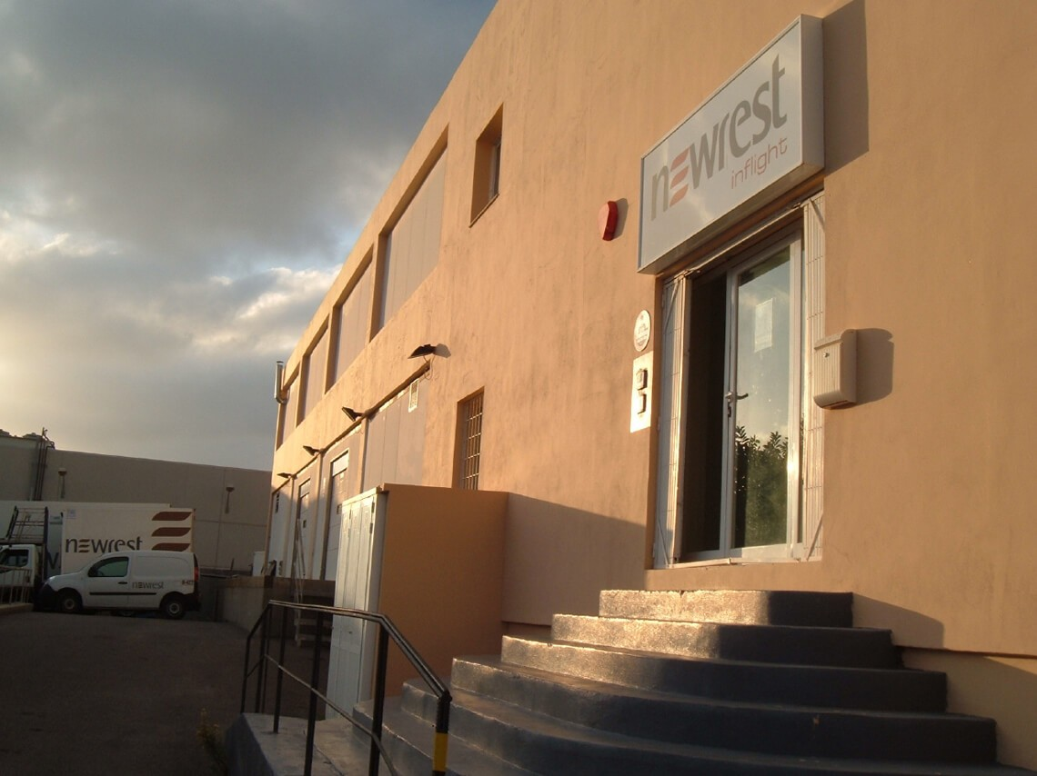 Unité de production de Newrest à Ibiza