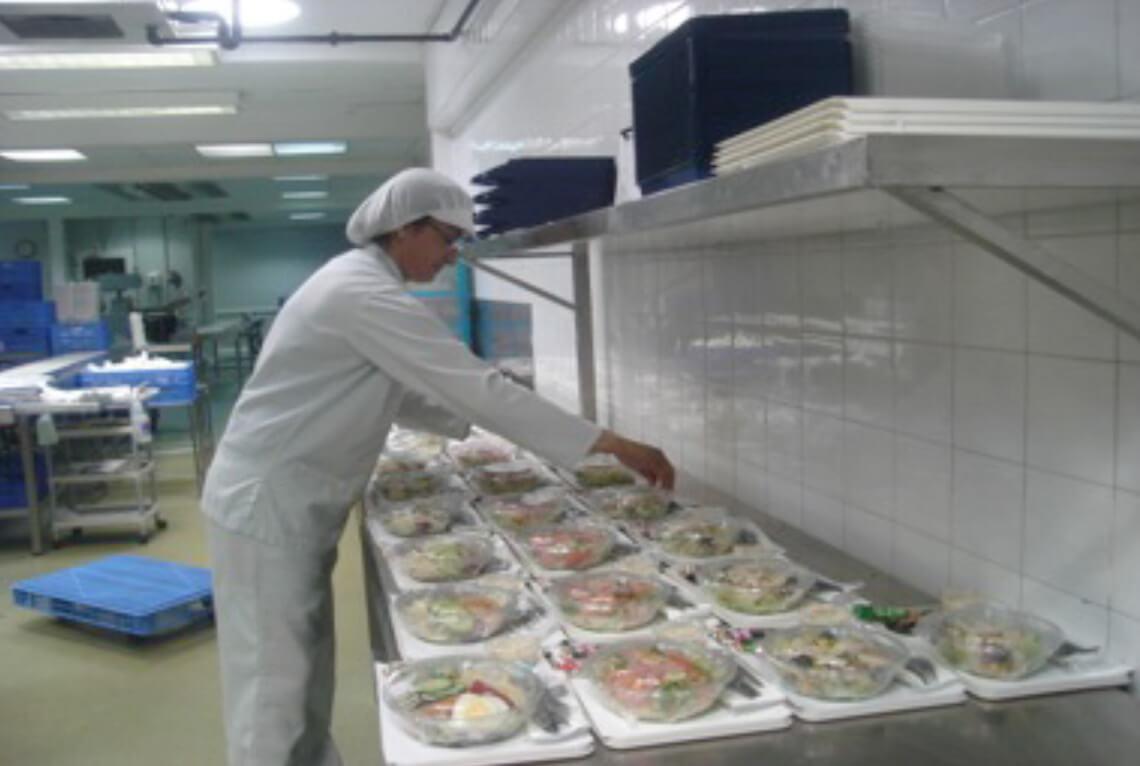 Unité de production de Newrest à Lanzarote