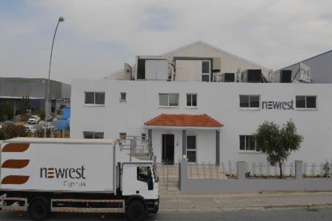 l'unité de Newrest à Larnaca