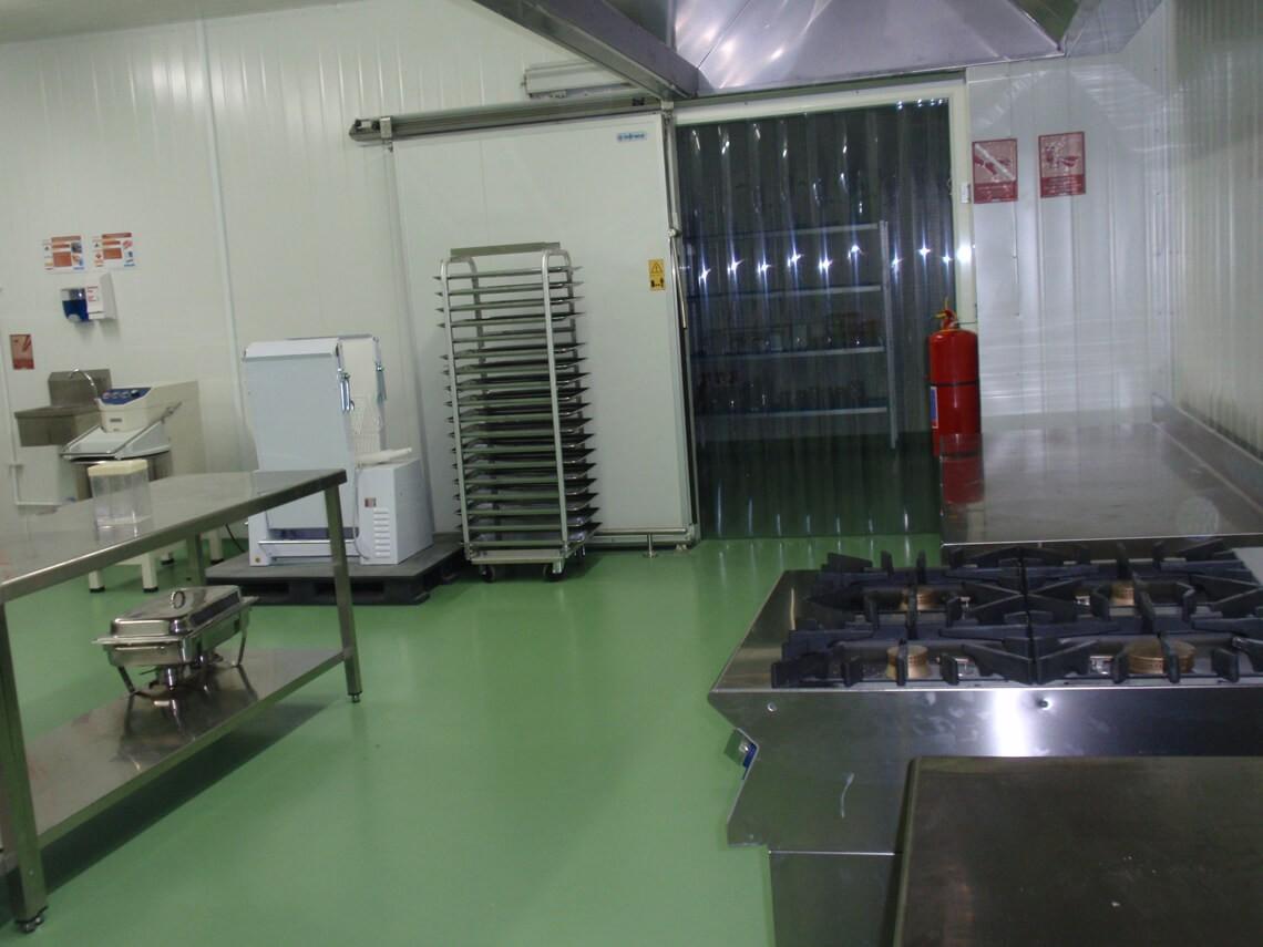 Unité de production de Newrest à Lima