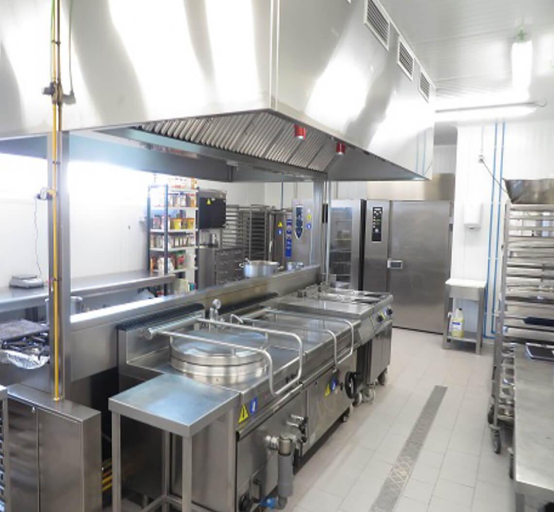Unité de production de Newrest à Malaga