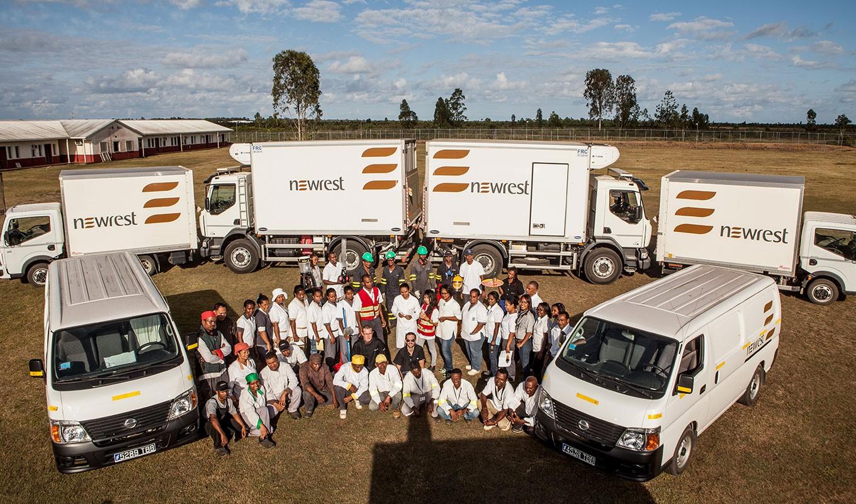 Newrest Madagascar staff