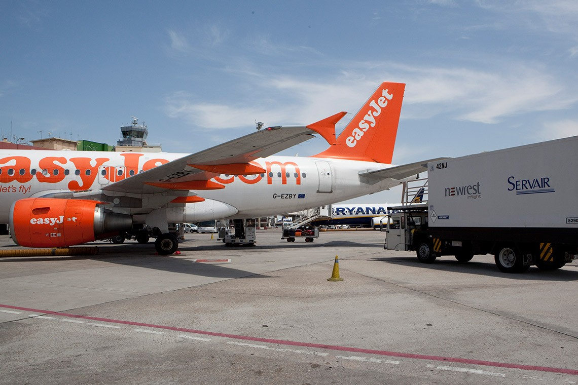 Newrest Servair inflight services in Barcelona