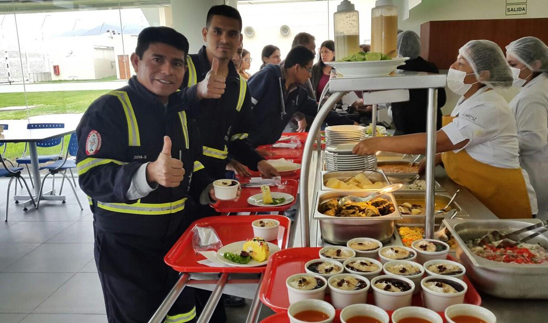 Gestion de bases de Vida de Newrest en Perú
