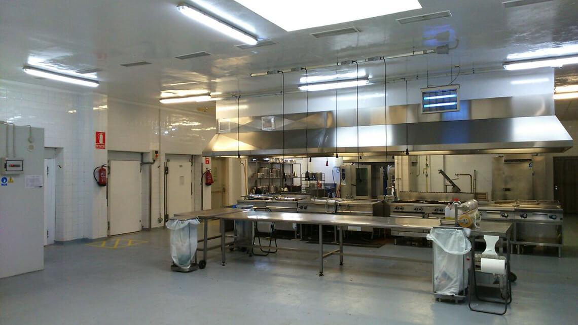 Unité de production de Newrest à Palma de Majorque