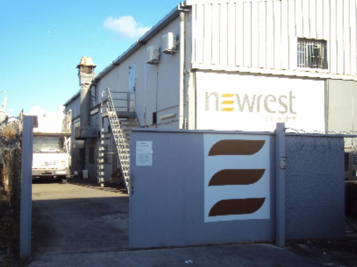 Unité de production de Newrest à Pointe à Pitre
