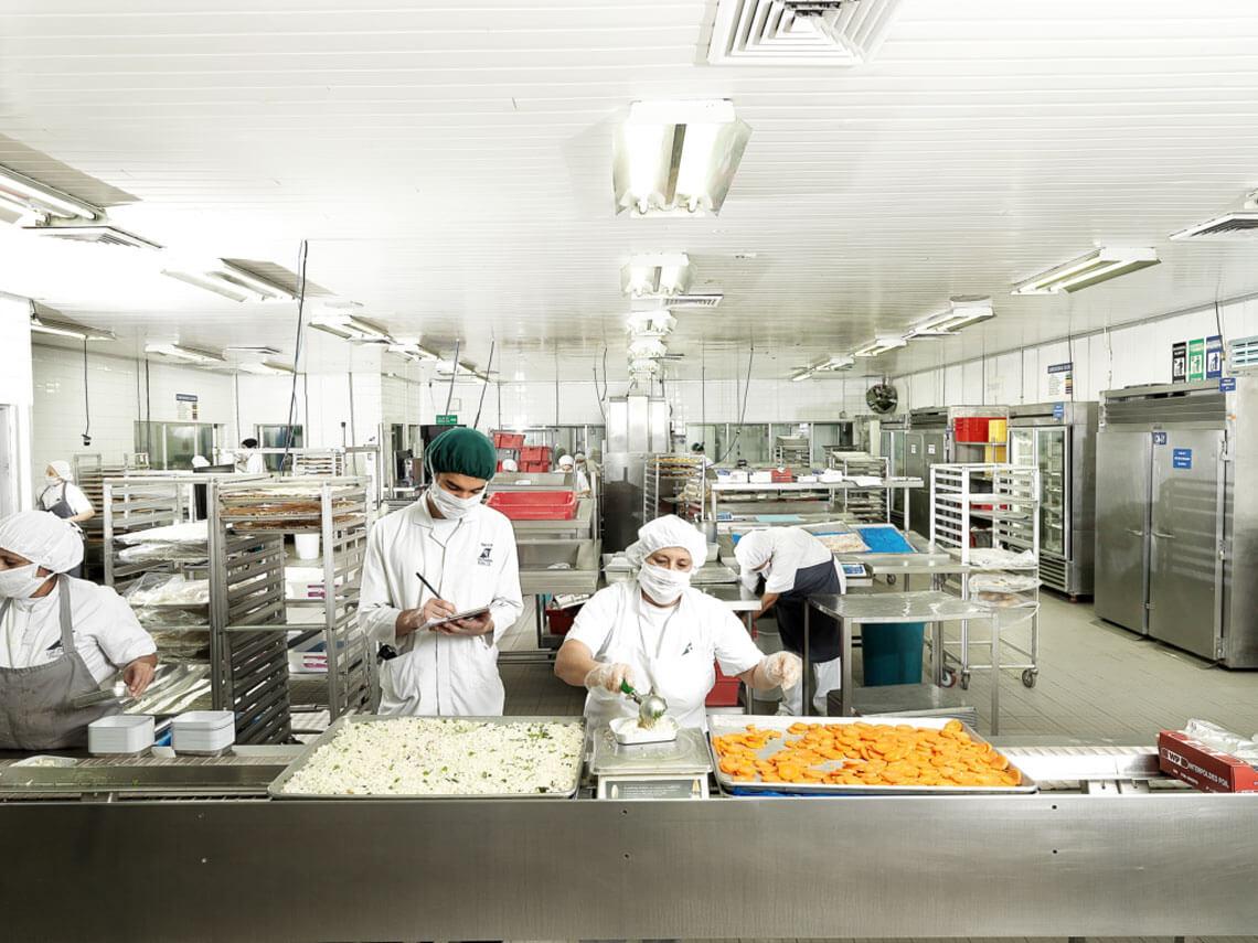 Unité de production de Newrest à San José