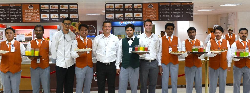 Daily Break Inauguration in Oman   Newrest
