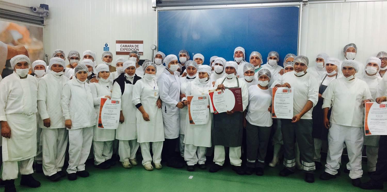 L'unité inflight du Groupe Newrest au Pérou à Lima et sa Certification ISO 9001