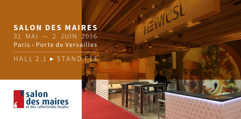 Newrest est pr sent au salon des maires paris newrest for Salon maires