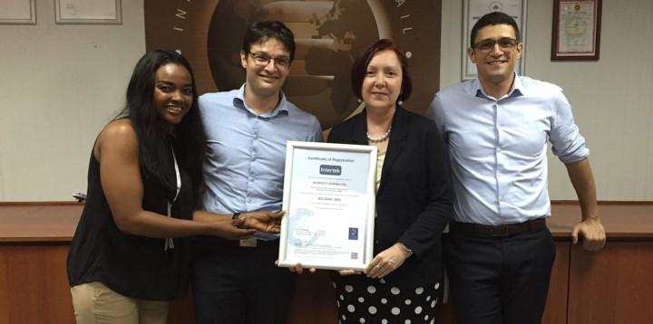 Newrest Ghana renouvelle sa certification
