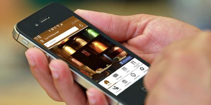 Mobile app pour le restaurant Zad en Oman