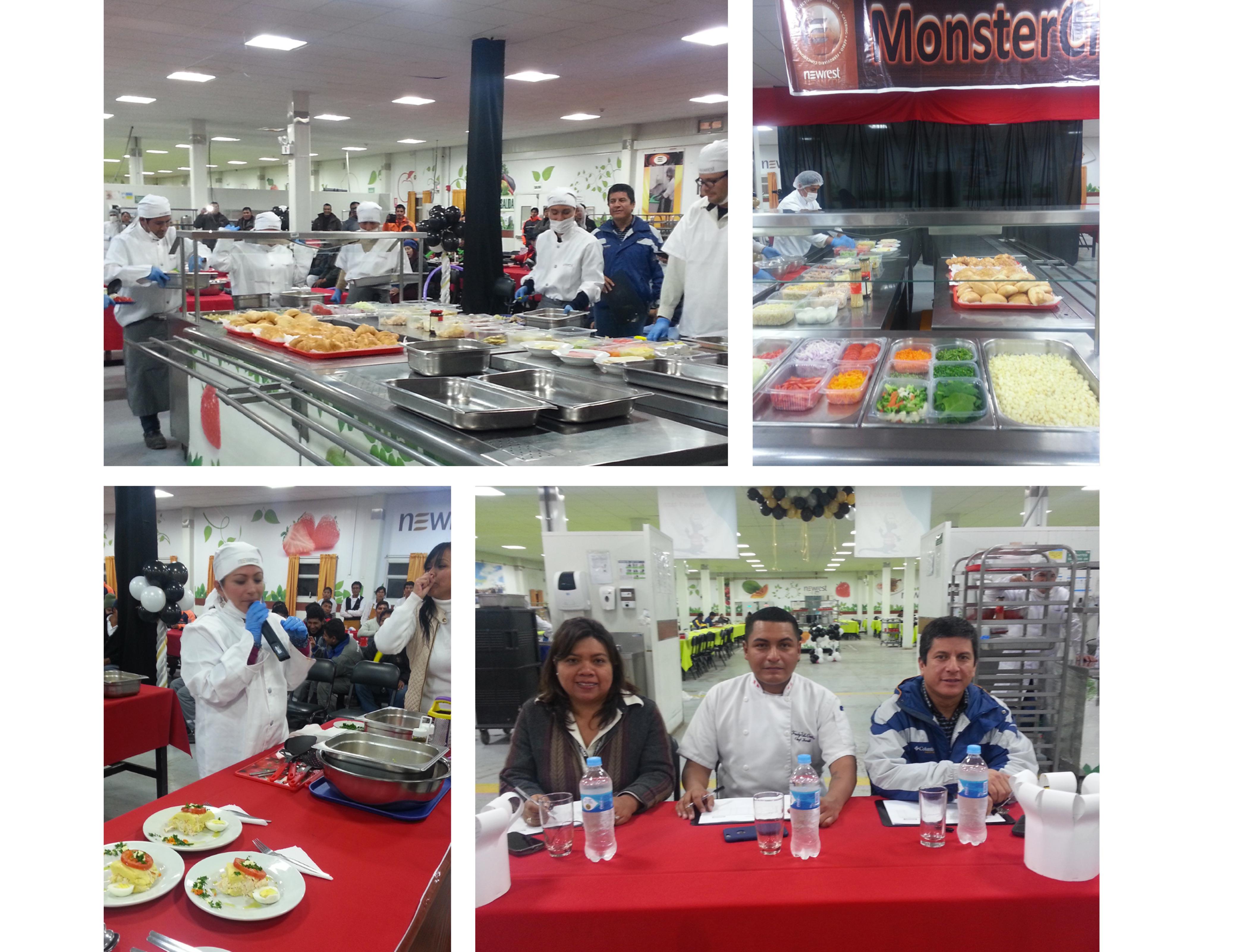 Monster Chef Newrest Peru