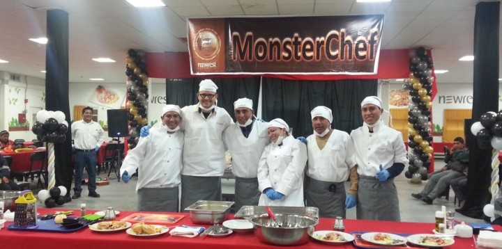 Monster Chef Newrest Peru