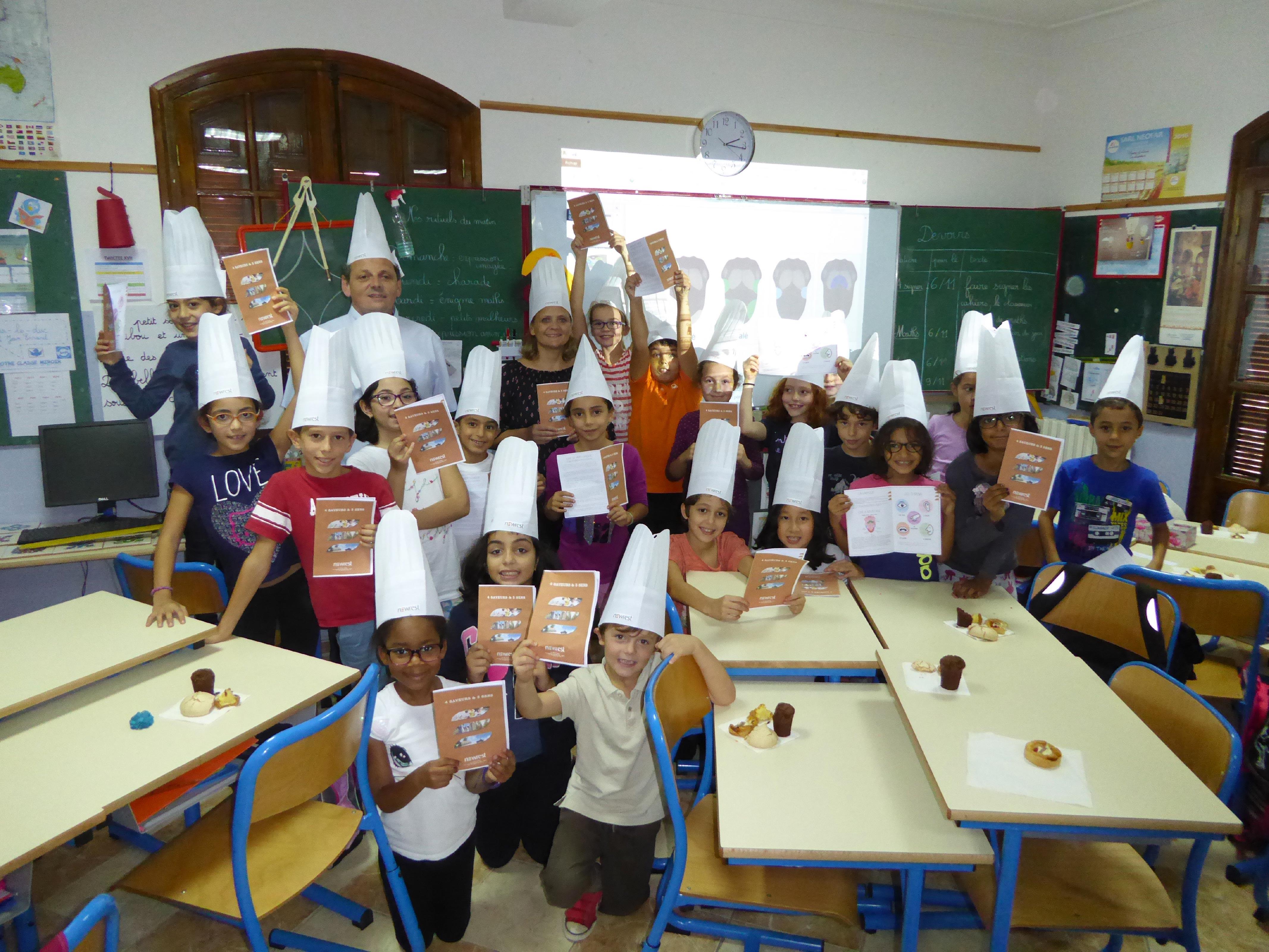 Newrest Algérie Petite Ecole Hydra Semaine du Goût