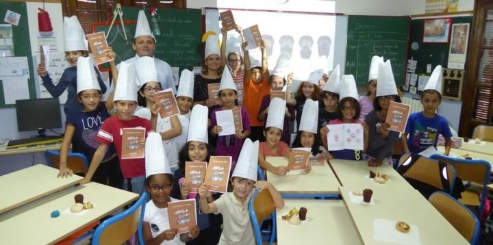 Newrest Algérie Semaine du Goût Petite Ecole d'Hydra à Alger
