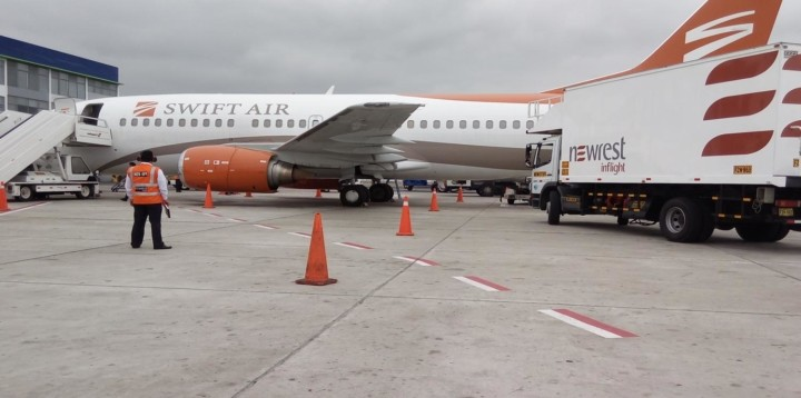 Newrest Pérou jet privé Aerosmith