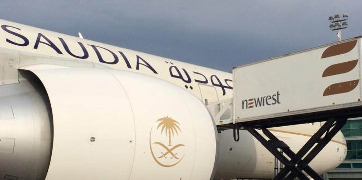 Newrest Servair à Toronto Saudia Airlines