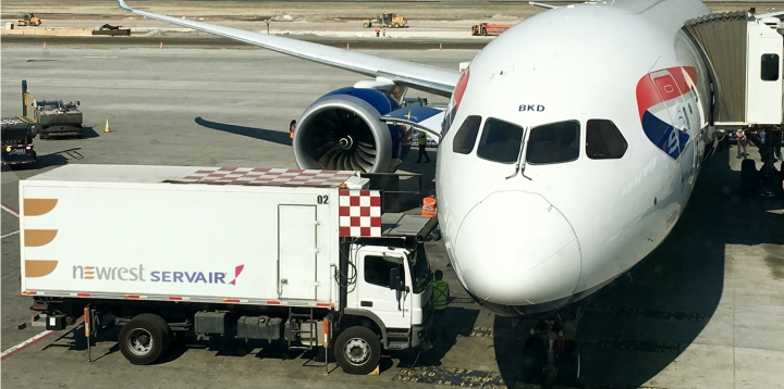 Newrest Servair Chili British Airways