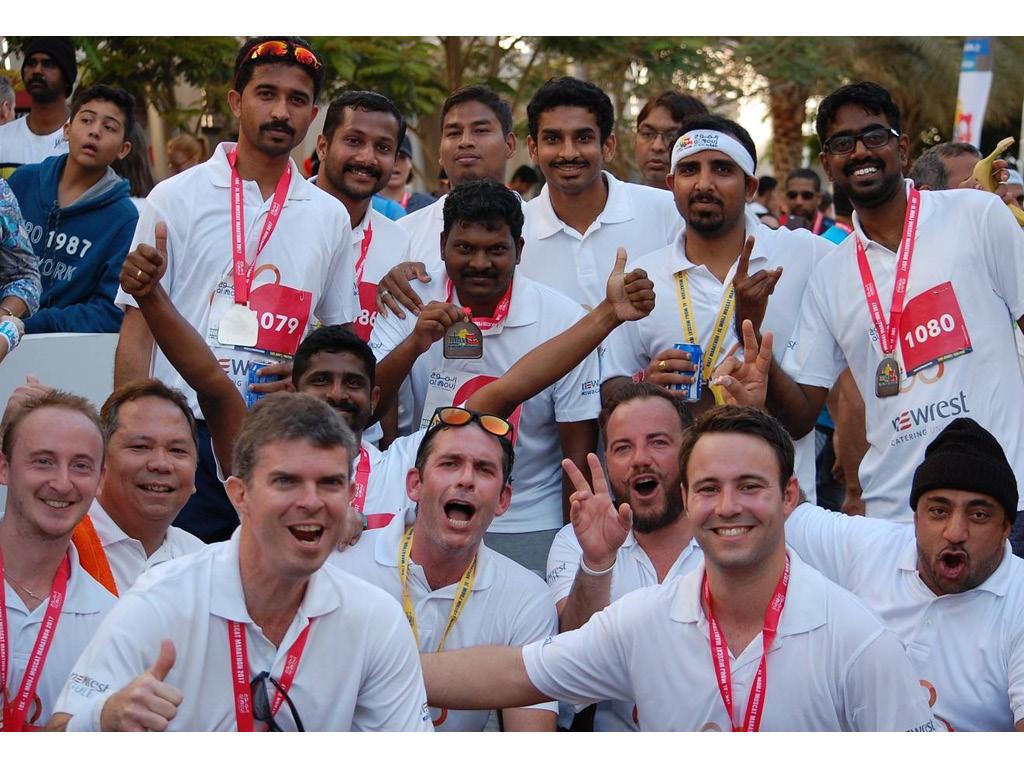 Newrest Wasasco et Newrest Gulf Marathon Muscat