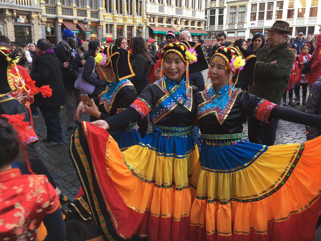 Newrest Servair Belgique Nouvel An chinois
