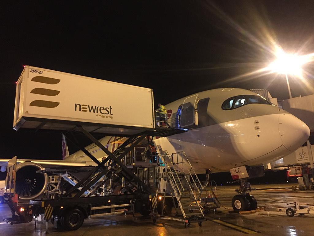 Newrest France Qatar CDG