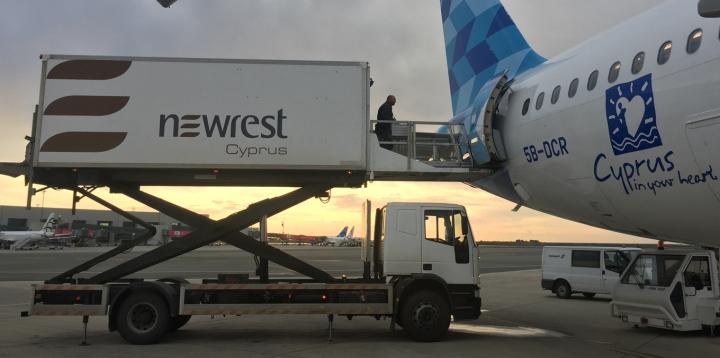 Newrest Cyprus Cobalt Air