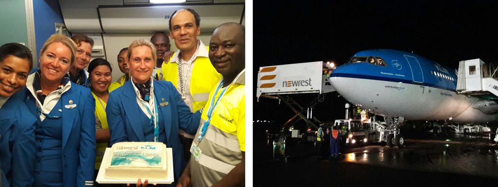 Newrest Libéria KLM
