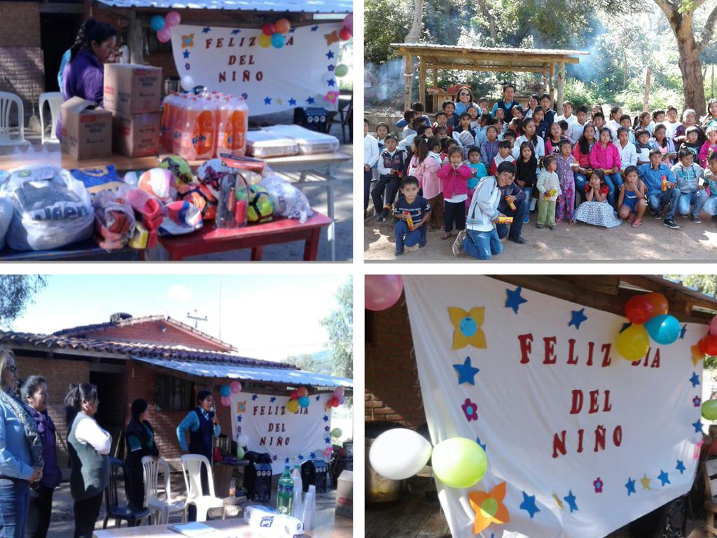 Newrest Bolivia Día del Niño
