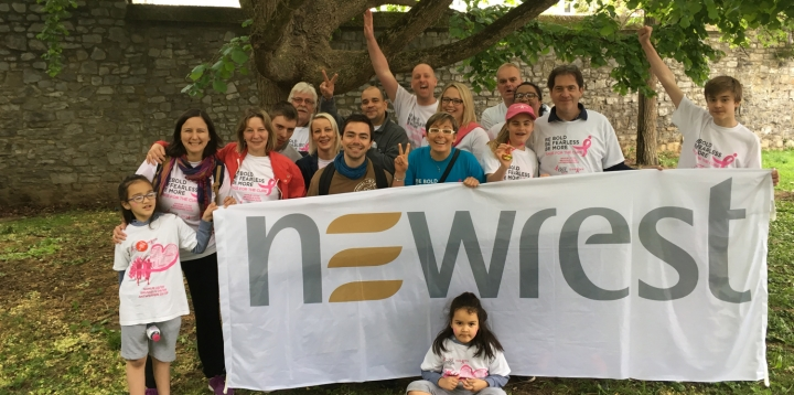 Newrest Belgique La Race for the Cure