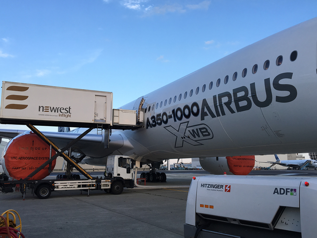 Newrest France Airbus Toulouse