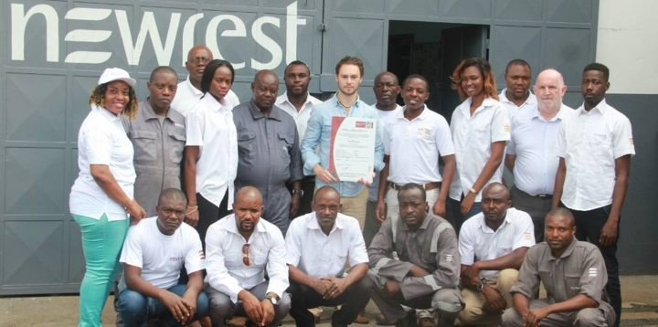 Newrest Cameroun certification