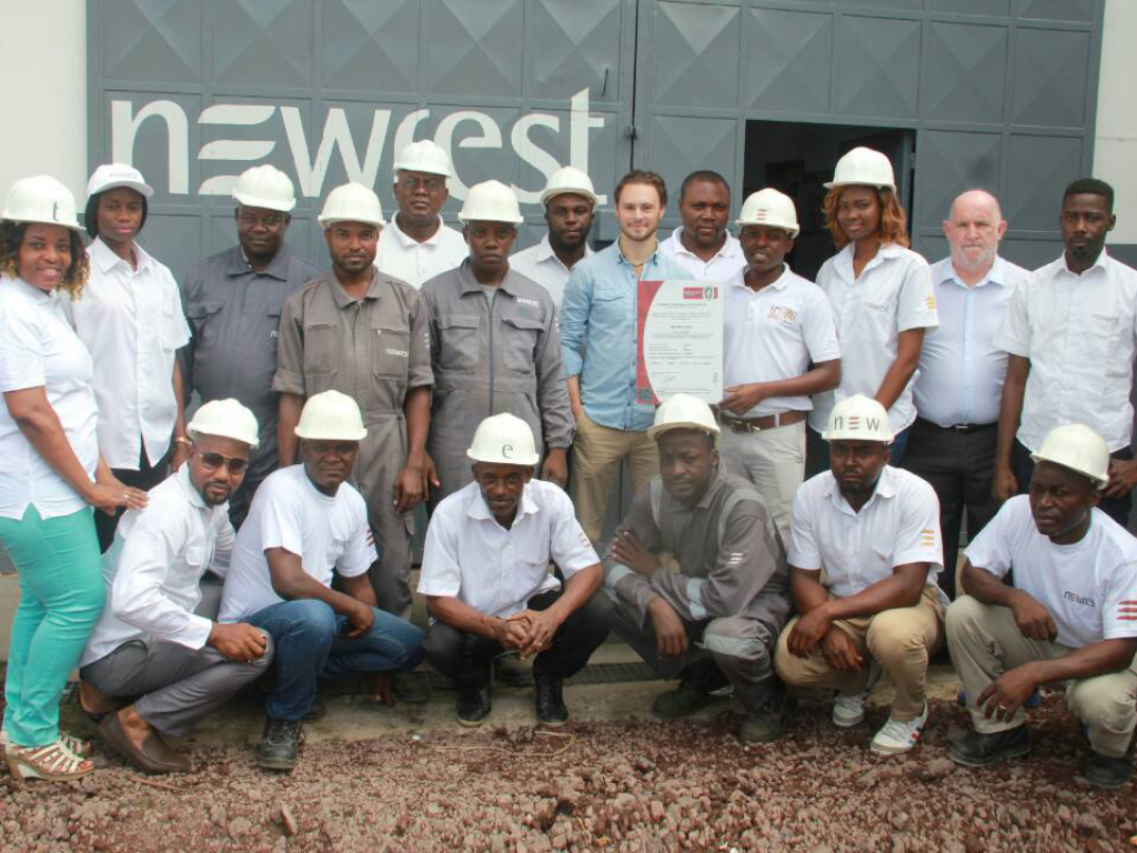 Newrest Cameroun certification