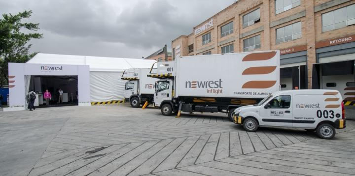 Newrest Colombie inauguration Bogota