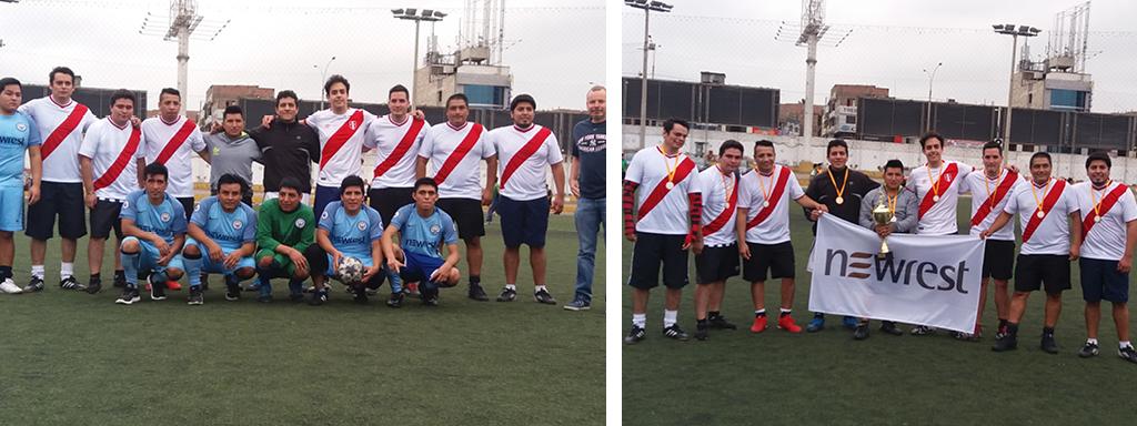 Newrest Pérou Futbolito