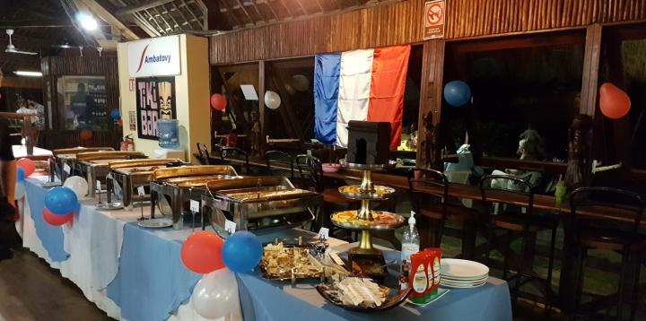 Newrest Madagascar 14 juillet Ambatovy