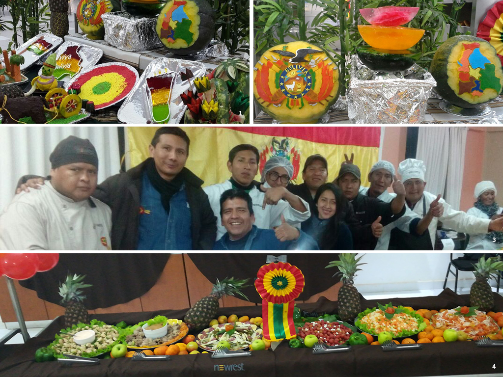 Newrest Bolivia Día de Patria