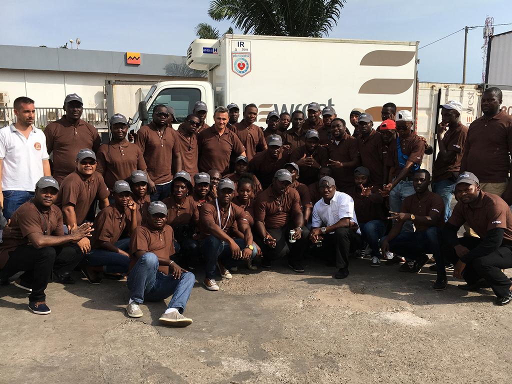 Newrest Gabon certification ISO 9001:2015