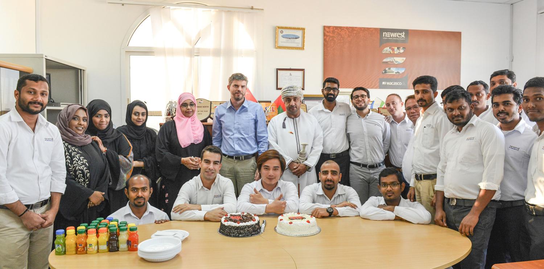 Newrest Wacasco celebrated the Omani National Day