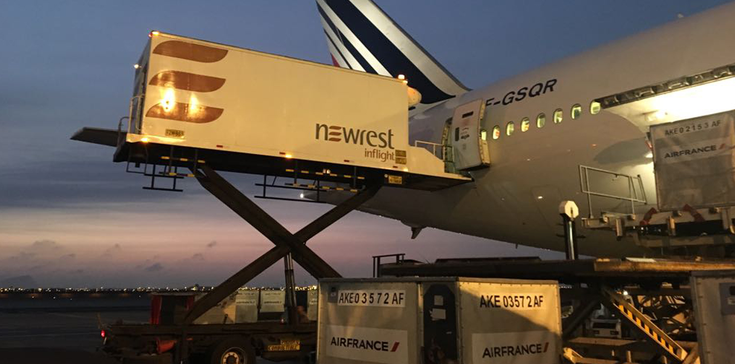 New contract for Newrest Peru with Air France from Lima
