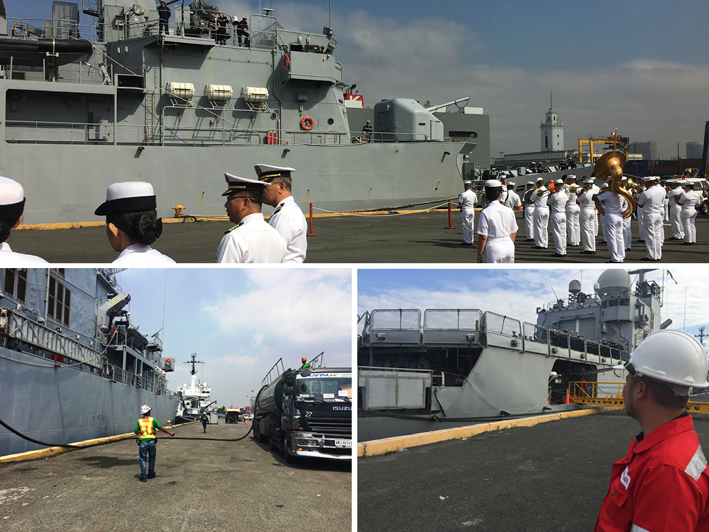 Philippines: the French Navy has appointed Newrest SOS expertise