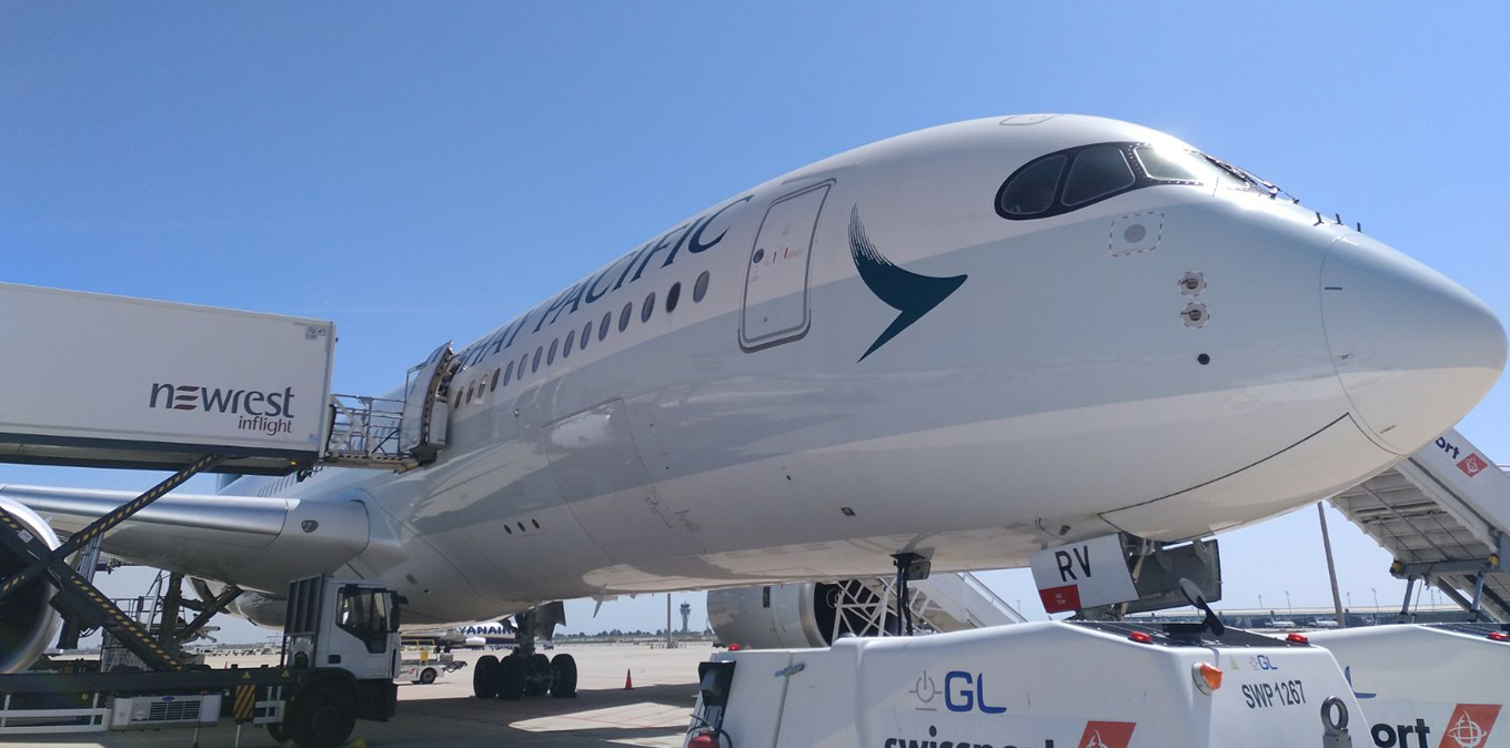New contrat for Newrest Spain with Cathay Pacific airline in Barcelona
