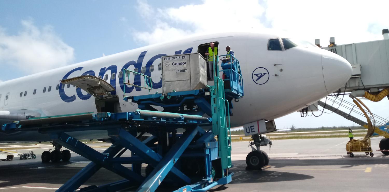 Newrest Costa Rica est venu en renfort de Condor aux Bahamas