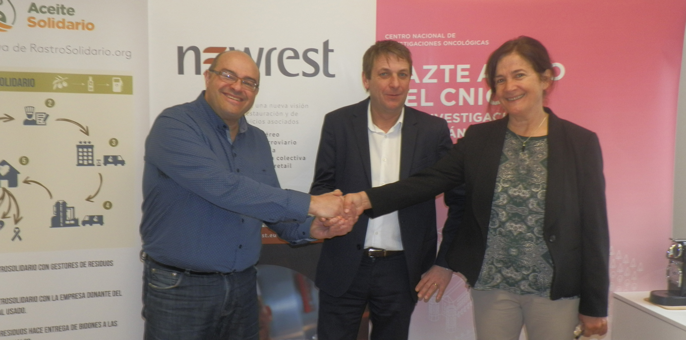 Newrest Spain has signed a collaboration agreement with the NGO RastroSolidario