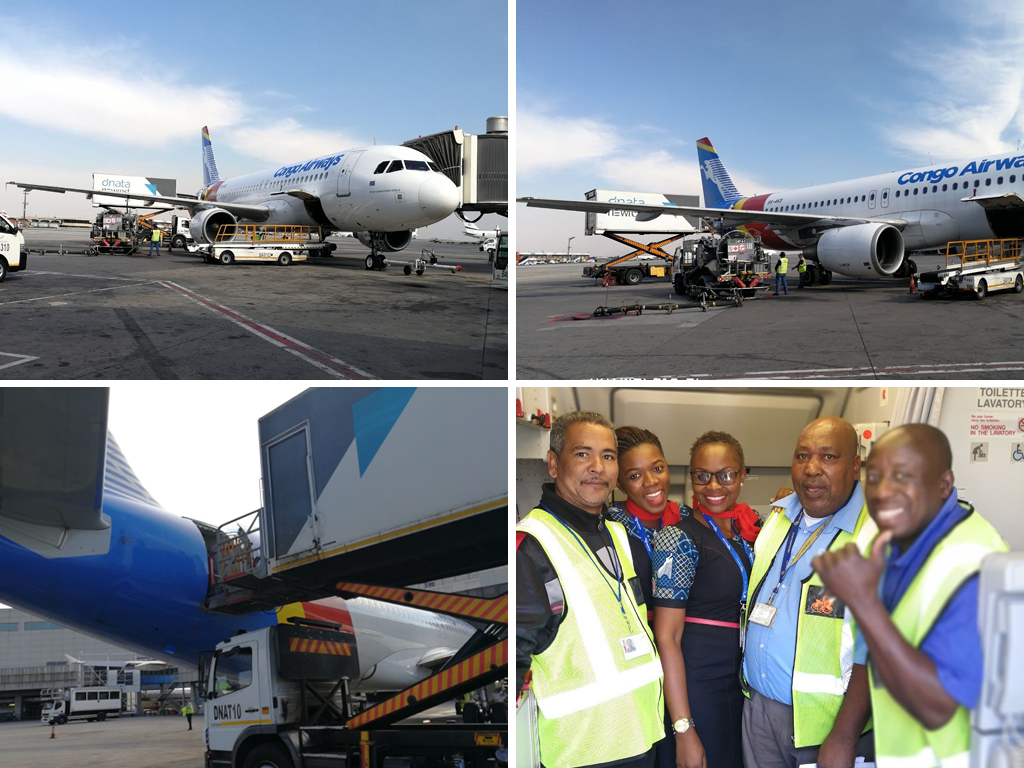 dnata Newrest has begun to provide services to Congo Airways