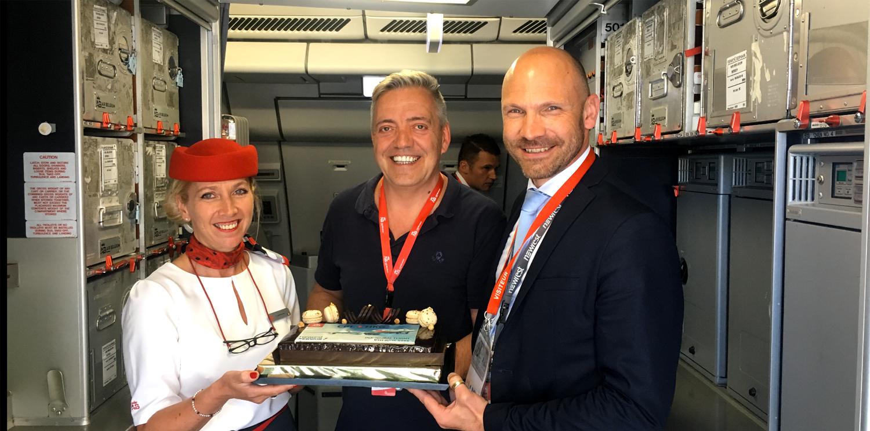 Newrest Belgique a récemment accueilli une nouvelle compagnie : Air Belgium